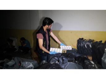 İstanbul'da 550 Bin Tl Değerinde Kaçak Sigara Ele Geçirildi