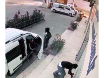 (özel) Sahte Plakalı, Levyeli Hırsızlar Kamerada