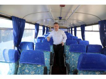 Başbakan Yıldırım'ın Otobüsü Talas'ta