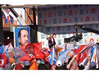 """Binali Yıldırım: """"kırıkkale'ye 16 Yılda 10 Katrilyon Yatırım Yaptık"""""""