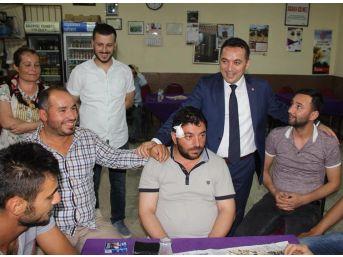 İyi Partili Eryılmaz Hamzabeyli'de Vatandaşlarla Buluştu