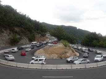 Muğla'da Trafik Durma Noktasına Geldi