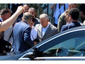 Başbakan Samsun'dan Ayrıldı