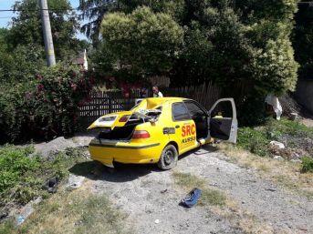 Samsun'da Otomobil Takla Attı: 2 Yaralı