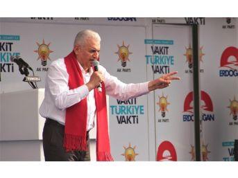 """Başbakan Yıldırım: """"bizim İçin Konya, Yozgat, Sakarya, Erzincan Neyse Dersim De Aynısıdır"""""""