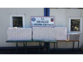 Van'da 10 Bin 560 Paket Kaçak Sigara Ele Geçirildi