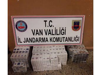 Van'da Bin 754 Paket Kaçak Sigara Ele Geçirildi