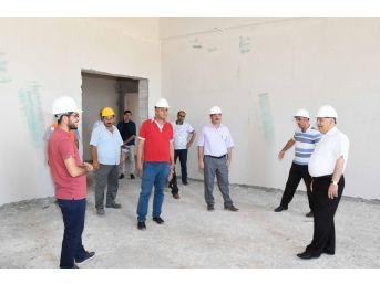 Adıyaman'da İslami İlimler Fakültesi Binası Eğitim İçin Gün Sayıyor