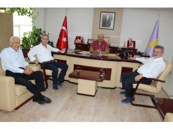Manisa Ve Aydın Esob Başkanlarından Konak'a Ziyaret