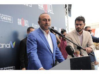 Bakan Çavuşoğlu'dan Yerel Medyaya Destek Vurgusu