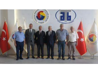Cumhuriyet Başsavcısı Tüten'den Atb'ye Ziyaret
