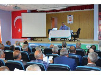 Adilcevaz'da 'imar Barışı' Konulu Bilgilendirme Toplantısı