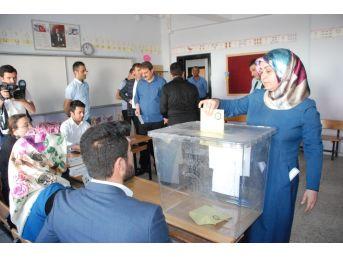 Bitlis'te Oy Kullanma İşlemi Başladı