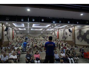 Afad'tan Öğretmenlere Afete Hazırlık Eğitimi