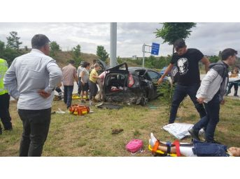 Çorum'da Trafik Kazası: 9 Yaralı