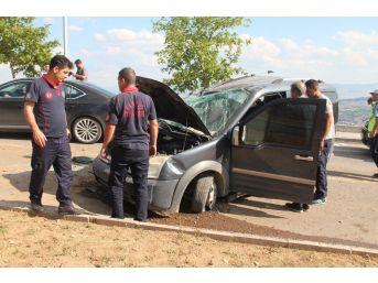 Elazığ'da İki Ayrı Kaza:4 Yaralı