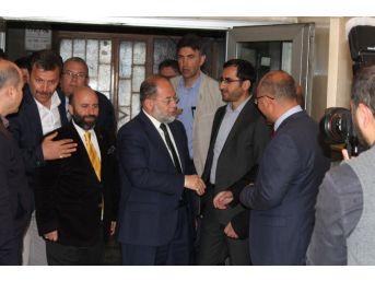Akdağ'dan Erbakan Vakfı'na Ziyaret