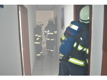 Eskişehir'de Yangın Paniği