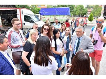 İnönü, Litvanyalı Misafirlerini Ağırlıyor