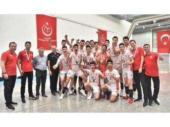 Ziraat Bankası Yıldız Takımı, Türkiye Üçüncüsü Oldu