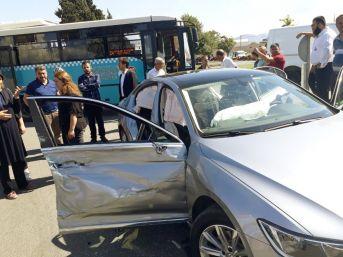 Ak Parti Milletvekili Adayı Öçal, Trafik Kazası Geçirdi