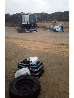 Kastamonu'da Hafif Ticari Araç Şarampole Devrildi: 1 Ölü