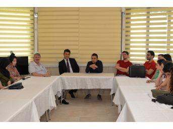 Erciyes Üniversitesi Tıp Fakültesi 6. Sınıf Öğrencileri Kırsal Hekimlik Stajı Çerçevesinde Tarım İl Müdürlüğünü Ziyaret Etti
