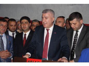 """Mhp İl Başkanı Serkan Tok: """"genel Başkanımızın Talimatıyla Seçilmiş Hükümetin Yanından Milim Ayrılma"""