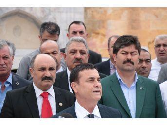 Esnaf Odaları Birlik Başkanlarından Ak Parti Adayı Necmettin Erkan'a Destek