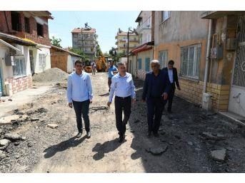Başkan Çınar, Çalışmaları İnceledi