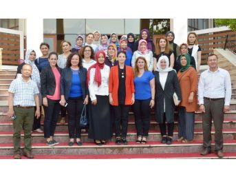 Memur-sen Kadınlar Komisyonu Ak Parti'li Kıvırcık'ı Ağırladı