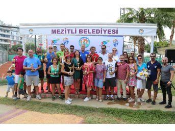 Mezitli Senyör Haftasonu Tenis Turnuvası Sona Erdi