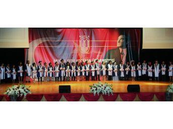 Mskü Tıp Fakültesinde Mezuniyet Töreni