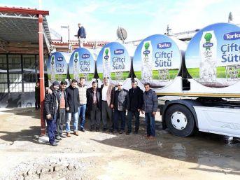 Akdağmadeni Süt Toplama Merkezi'nin Açılışı Yapıldı