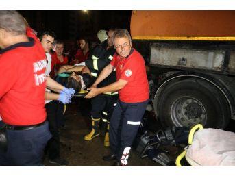 Otomobil Su Tankerine Çarptı: 1 Ölü