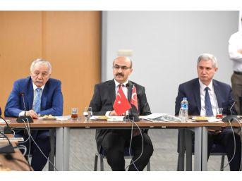 Adana'da 15 Temmuz'da Yapılacak Etkinlikler Görüşüldü
