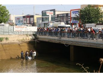 İnşaat İşçisi Mola Verdiği Sırada Serinlemek İçin Girdiği Sulama Kanalında Boğularak Can Verdi