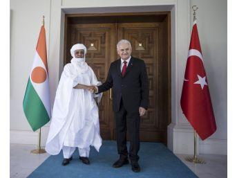 Başbakan Yıldırım, Nijer Başbakanı İle Görüştü