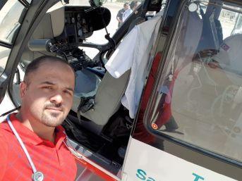 Ambulans Helikopter Hayat Kurtarmaya Devam Ediyor