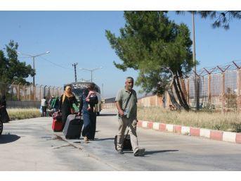 Bayramı Ülkelerinde Geçiren 13 Bin Suriyeli Türkiye'ye Döndü