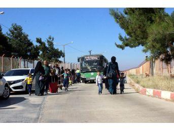 Bayramı Ülkelerinde Geçiren 16 Bin Suriyeli Türkiye'ye Döndü
