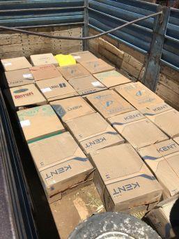 Van'da 13 Bin Paket Kaçak Sigara Ele Geçirildi