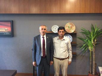 Başkan Aslan'dan Milletvekili Yakup Taş'a Övgü