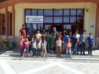 Suriyeli Öğrenciler Kütüphane Konusunda Bilgilendirildi