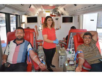 Korkuteli'de Kan Bağışı Kampanyası