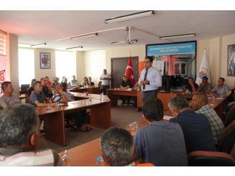 Dörtyol'da Belediye Personeline İş Güvenliği Eğitimi