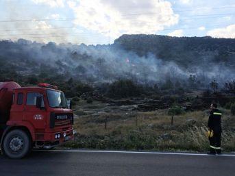 Isparta Eğirdir'de Orman Yangını