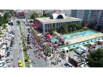 Saraçhane 15 Temmuz Anıtı Açıldı