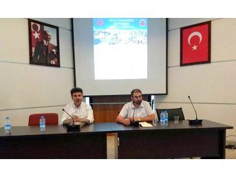 Rektör Karacoşkun Sivas'ta Sempozyuma Katıldı