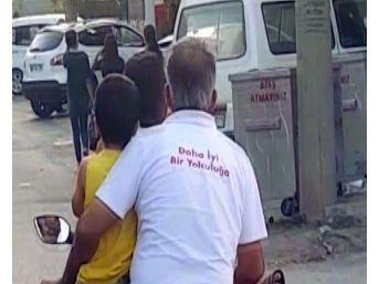 'daha İyi Bir Yolculuğa' Yazılı Tişörtüyle Kazaya Davetiye Çıkardı